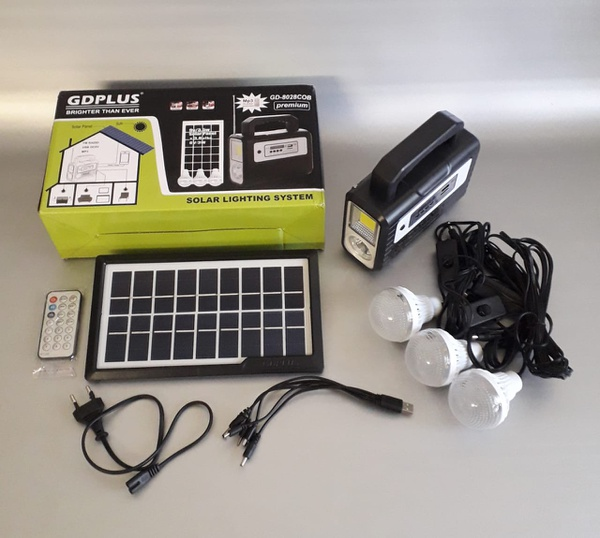 Gdplus solar lighting system picture