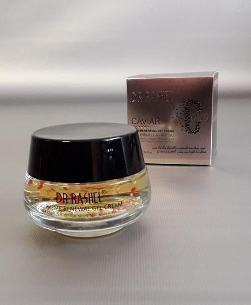 50g dr rachel gold caviar supreme renewal gel cream picture