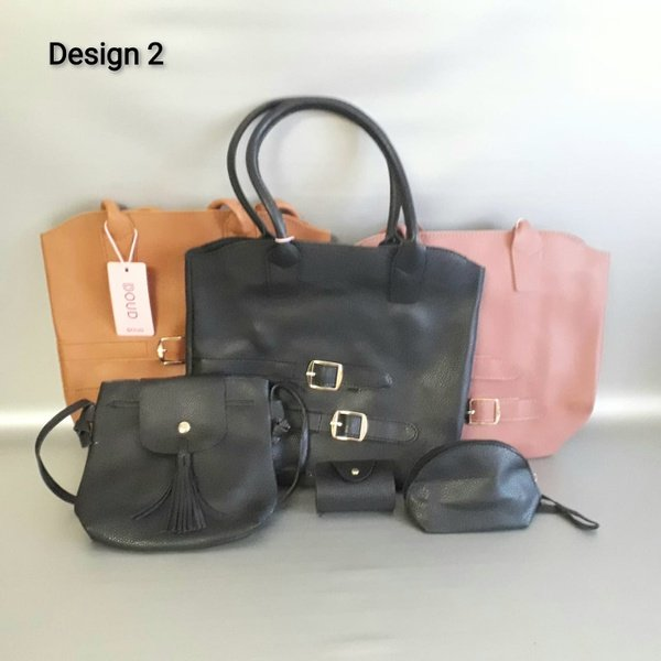 4 piece designer handbag set. design 2 picture