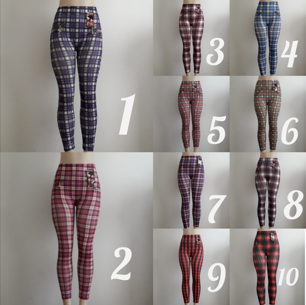 Checkered leggings picture
