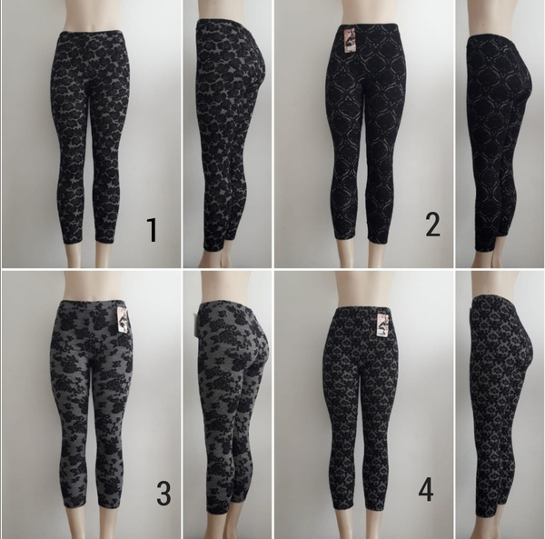 Printed lace leggings picture