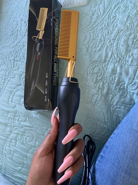 Hot electric comb picture