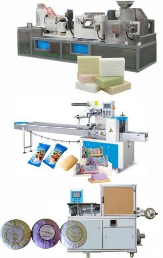 Soap production line 50kg/hr picture
