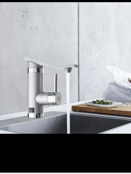 Instant hot water kitchen faucet picture
