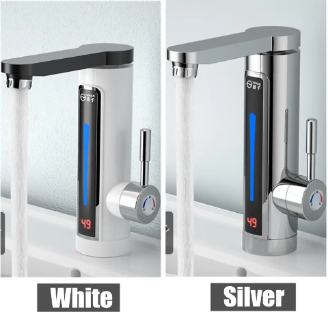 Instant hot water tap kitchen picture