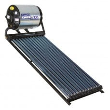 Kwikot direct solar water heater system 100 litre with 12 vacuum tubes picture