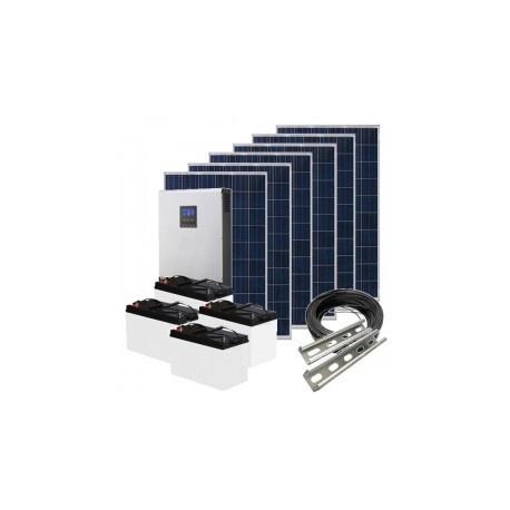 5kva 5000 watt solar off grid system ( fully installed) picture
