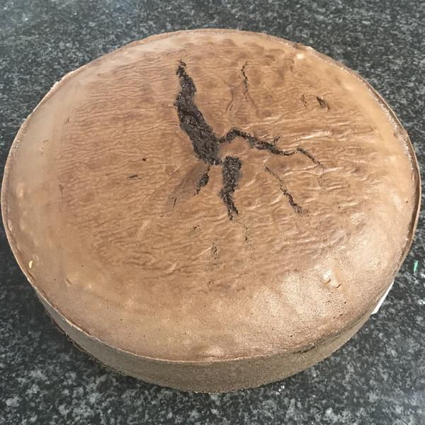 Chocolate sponge cake 30cm picture