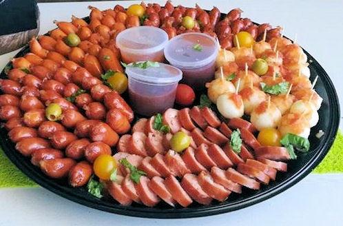 Sausage platter picture