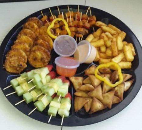 Vegetarian platter picture