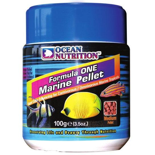 Ocean nutrition formula one pellets picture