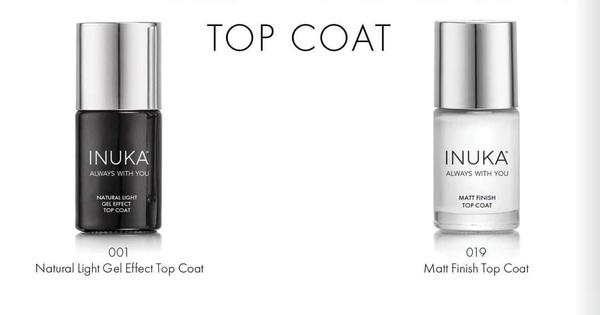 Gel effect top coat / matt finish top coat picture