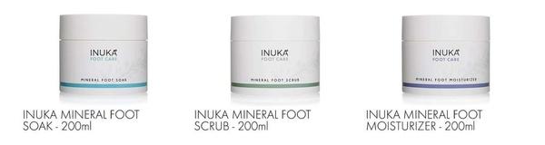 Foot soak,scrub and moisturizer picture