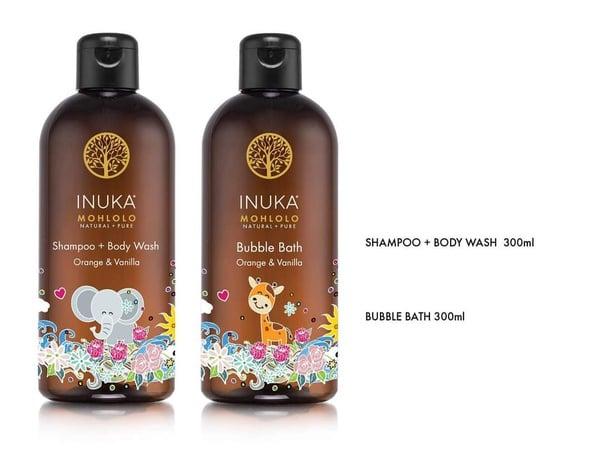 Shampoo + body wash  /  bubblebath picture