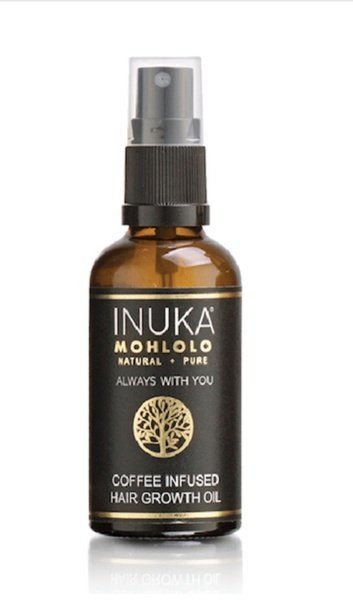 Natural coffee infused  hair growth oil picture