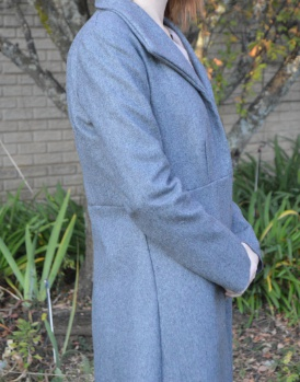 Grey formal jacket picture