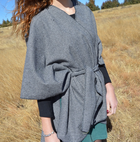 Poncho jacket picture