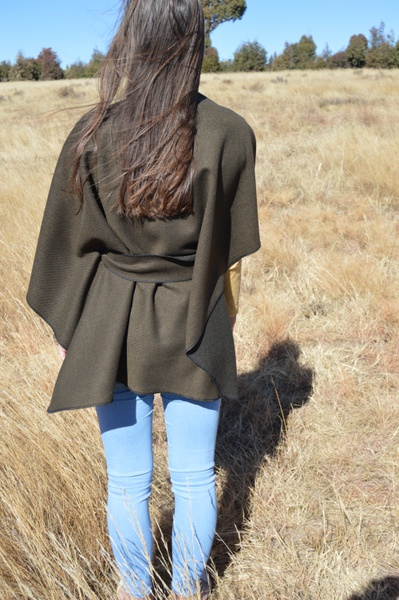 Green poncho picture
