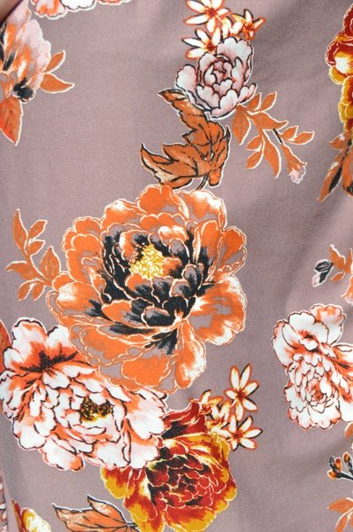 Foral dress picture
