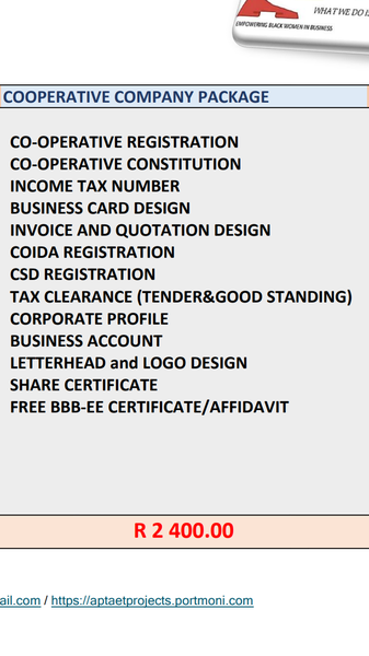 Corporative  Registration picture