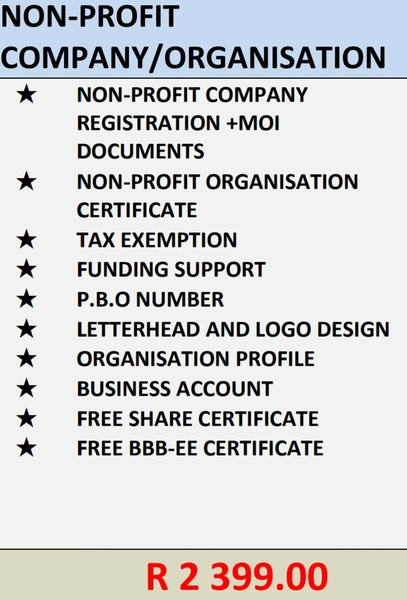 Church and school registration, NGO's picture