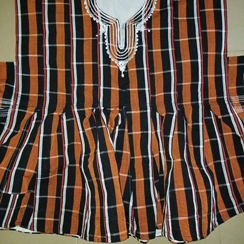 African traditional smock picture