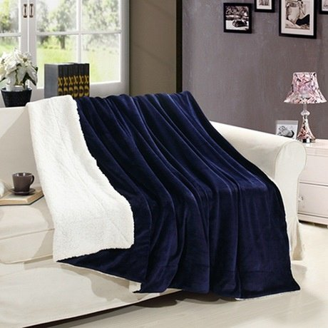 Sherpa luxury throw picture