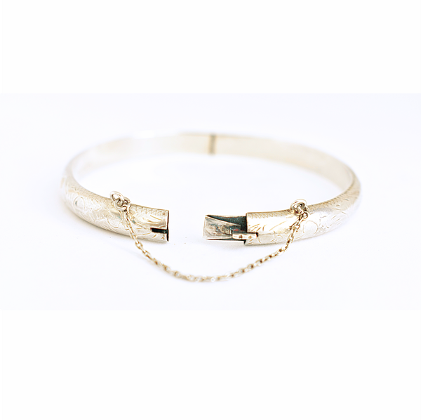 Vintage hinged cuff bangle picture