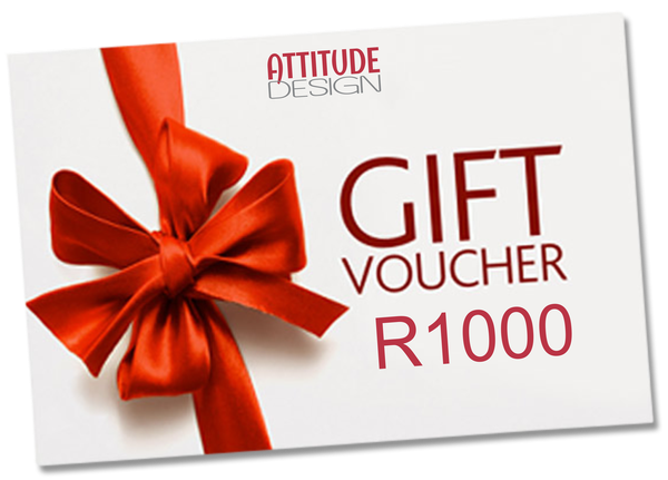 R1000 attitude design gift voucher picture
