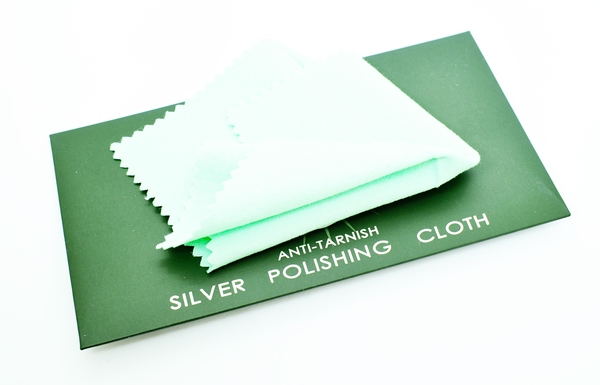 Sterling silver polishing cloth picture