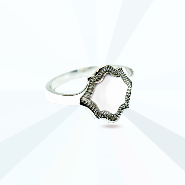 Shield signet ring picture