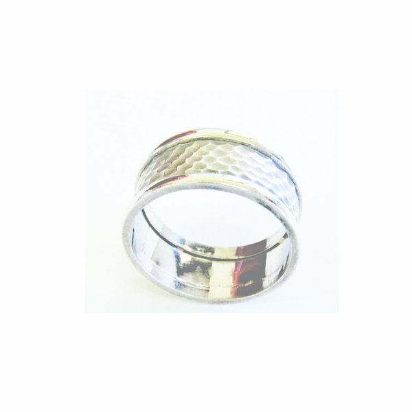 Vintage unisex sterling silver band ring picture