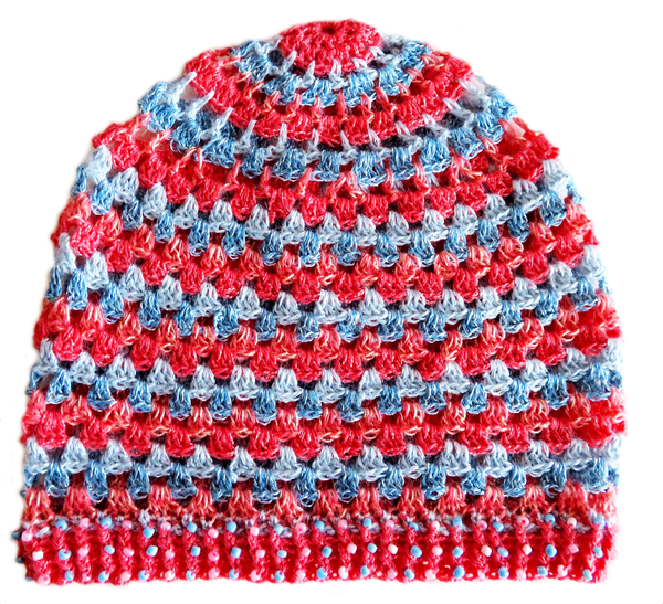 Adult beaded beanie picture