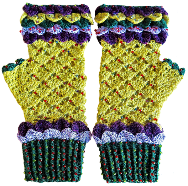 Adult 'game of thrones' mittens - xl picture