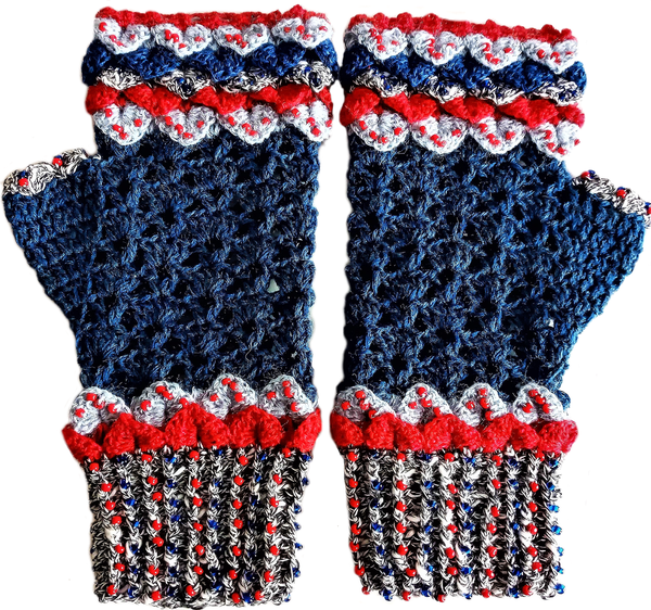 Adult 'game of thrones' mittens – m-ml picture