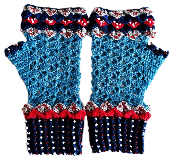 Adult 'game of thrones' mittens - l picture