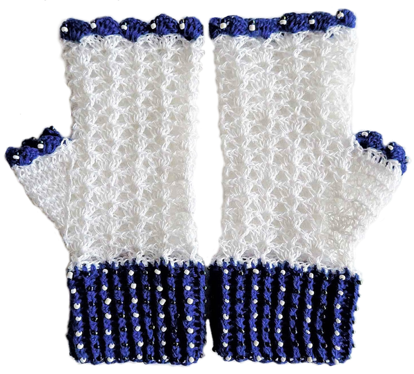 Adult plain mittens - l picture