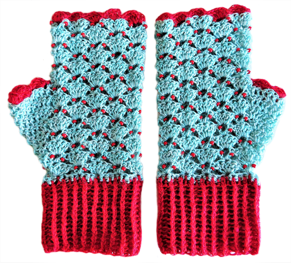 Adult plain mittens – s picture