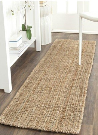 Jute runners - natural rugs picture