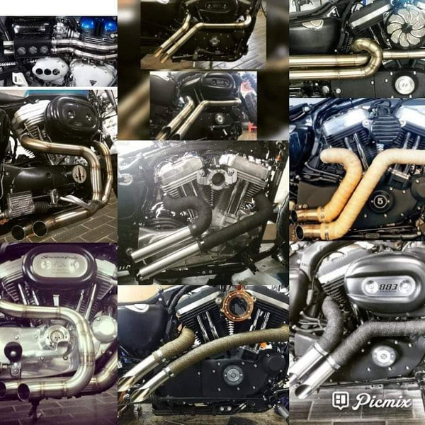 Custom stainless exhaust systems picture