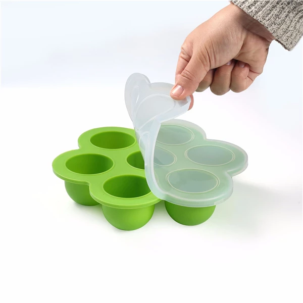 Silicone baby freezing container picture