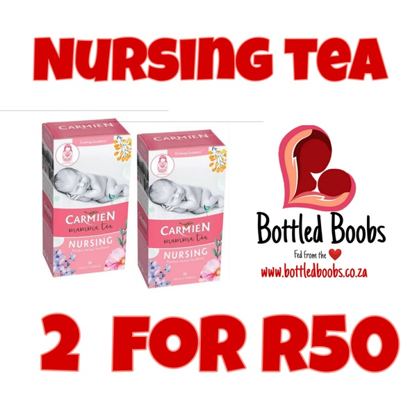 2 x carmen nursing tea picture