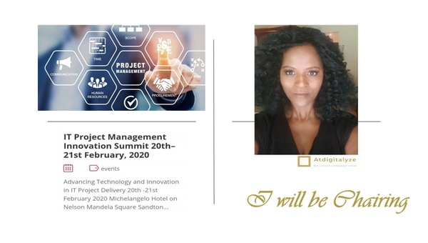 Our ceo will be chairing at the it project management innovation summit picture