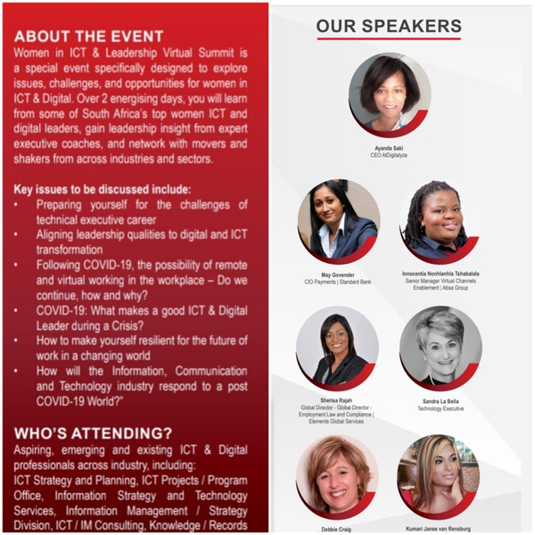 Highlights from the women in ict and digital virtual summit 2020 picture