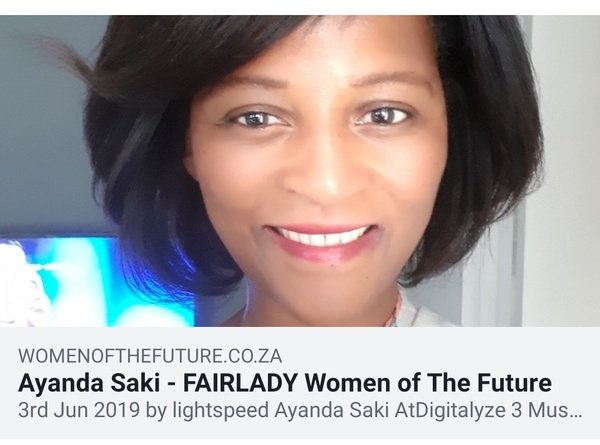 Fairlady magazine feature - women of the future list picture