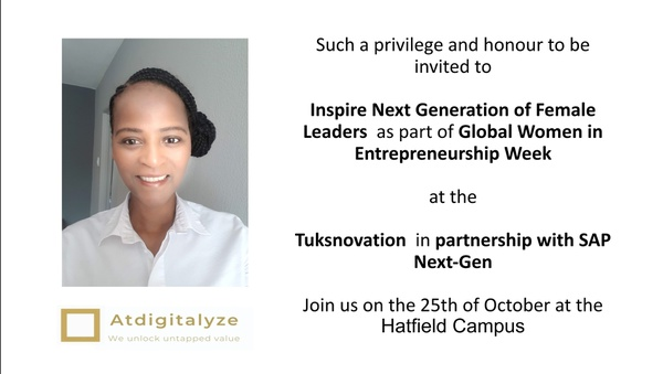 Our CEO will be speaking at the University of Pretoria picture