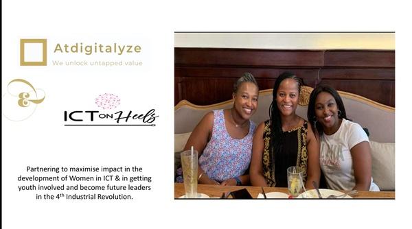 Atdigitalyze partners with ict on heels picture