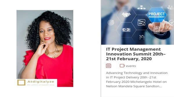 Speaking at the it project managenent innovation summit picture