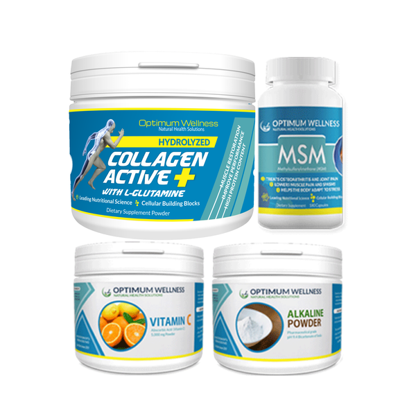 Collagen active+ with l-glutamine 5000mg combo picture