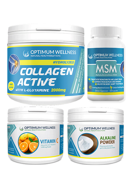 Collagen active with l-glutamine 2000mg 420g combo picture